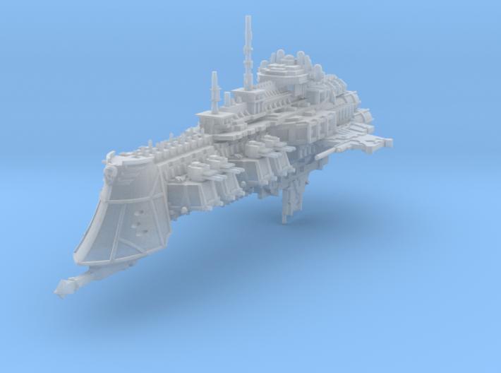 Gothic Cruiser 3d printed