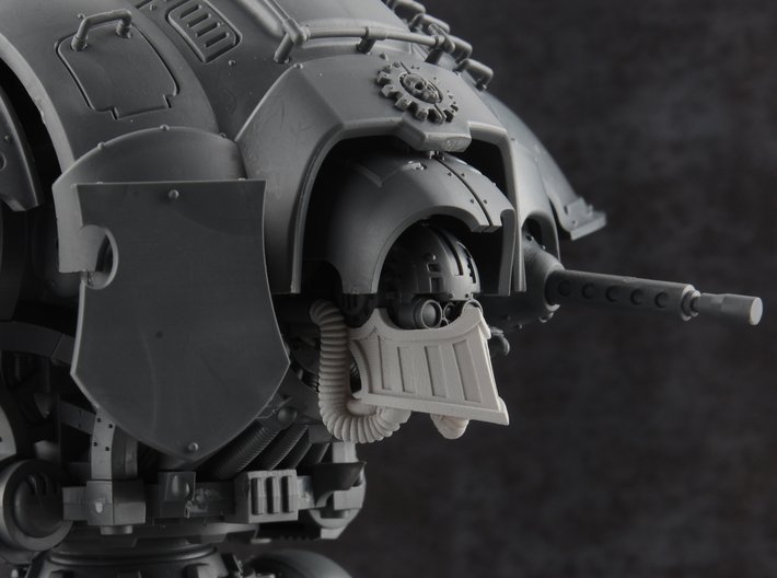 Iron Prow - Rebreather 3d printed