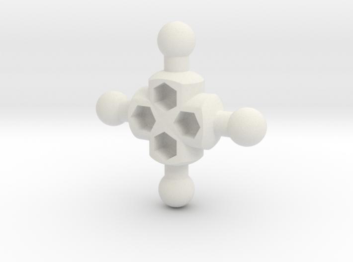 Crux Hub for ModiBot 3d printed Crux Hub for ModiBot