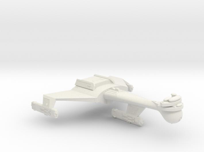 3788 Scale Romulan K9R Dreadnought (Smooth) WEM 3d printed
