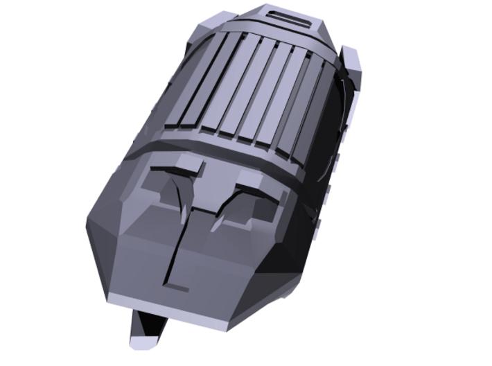 Bentusi Cargo barges (3) 3d printed