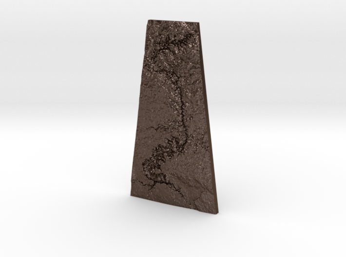 Grand Canyon Pendant 3d printed