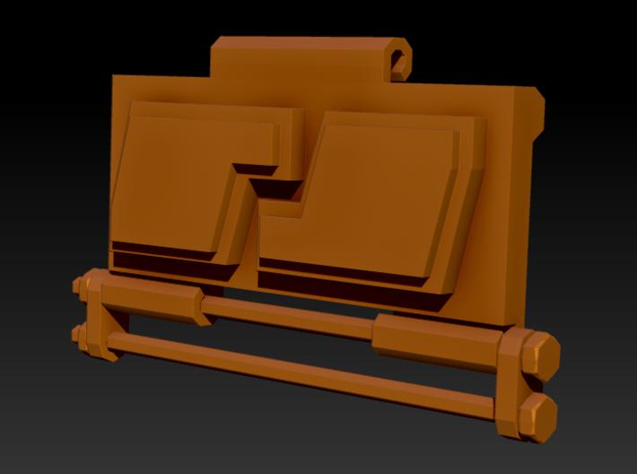 Mechanical Pendant 3d printed