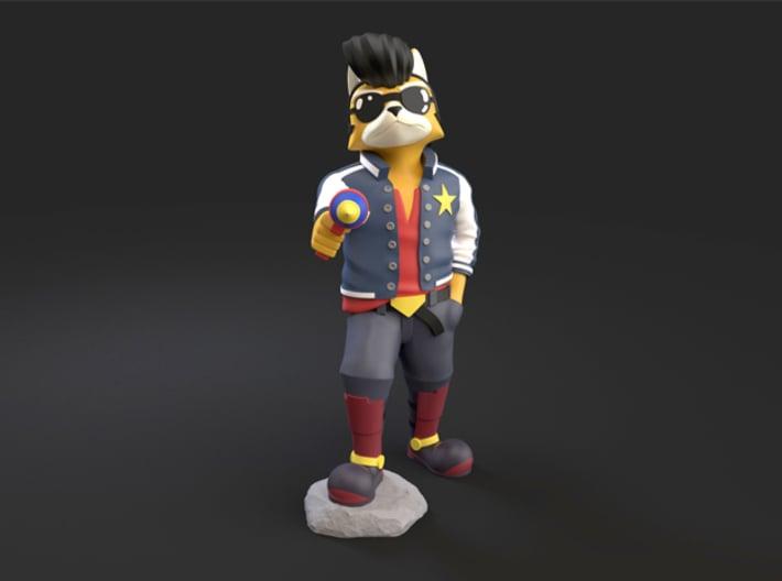 Fox McCloud + Space Dandy 3d printed