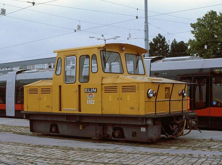 UBL Wiener Linien U-Bahn Hilfsfahrzeug 3d printed