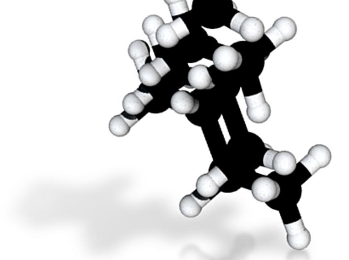 Alkane Set, Methane + Ethane + Propane + Butane 3d printed