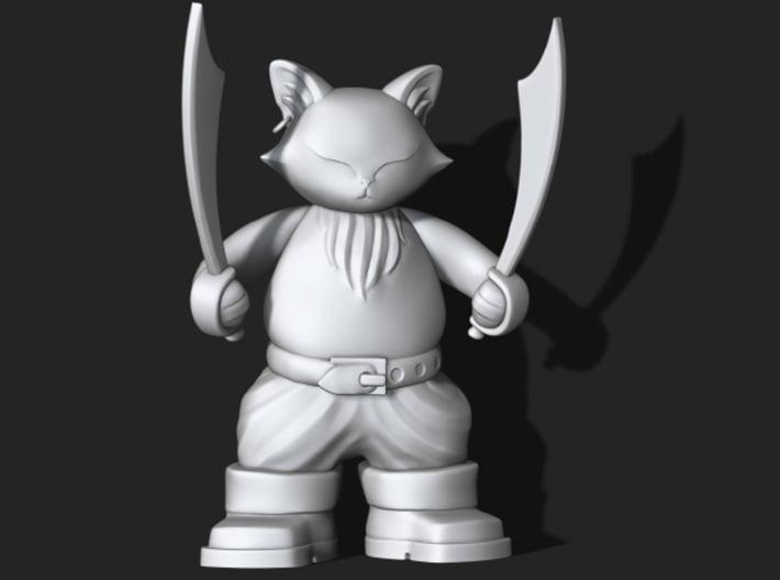 Captain Porkchop  3d printed