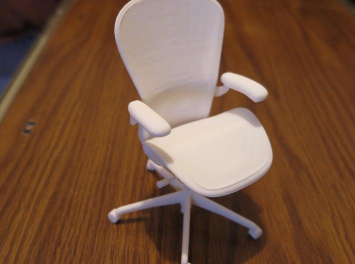 "Aeron Chair PostureFit 6"" tall 3d printed"