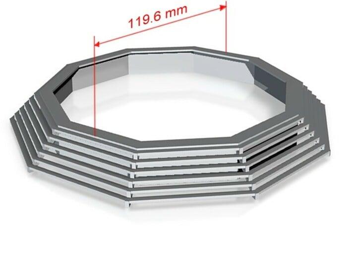 Stufenring für Faller 140315 1:87 (H0 scale) 3d printed