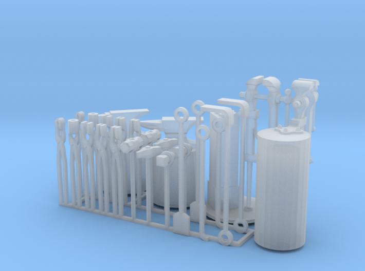 Forging tools 3d printed