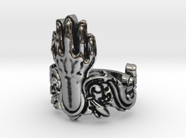 Manus Ring 3d printed