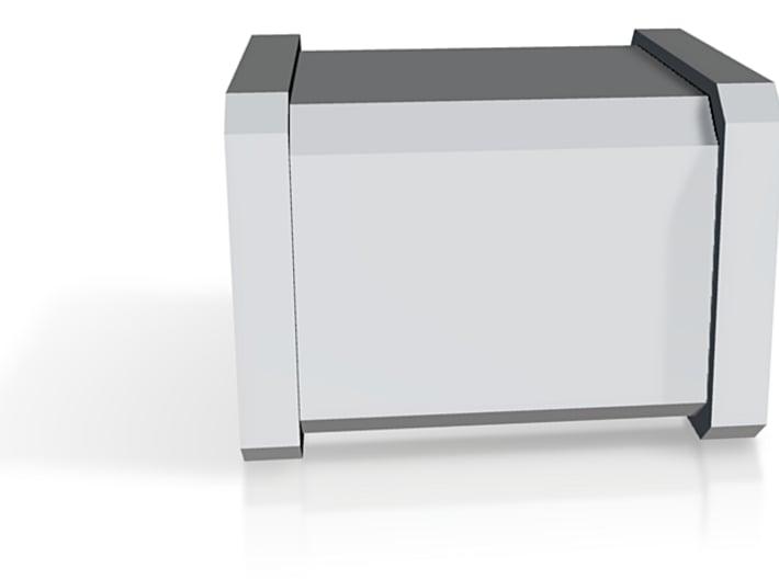 Particle accelerator module 3d printed