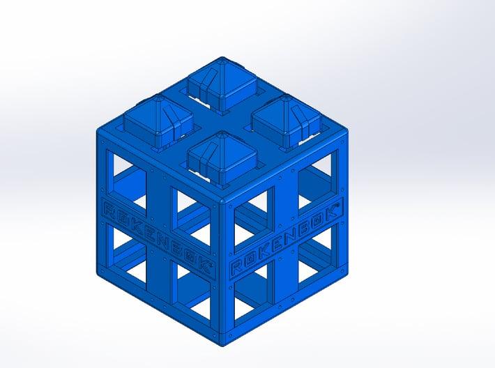 Rokenbok 2x2 ROK Block 3d printed