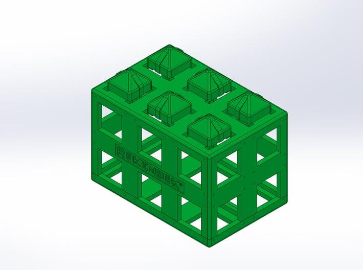 Rokenbok 2x3 ROK Block 3d printed