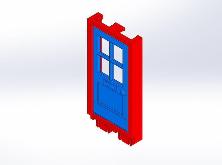 Rokenbok Door 3d printed
