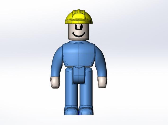 Rokenbok Worker 3d printed