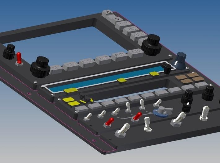 Jet Ranger - Top Centre Console 3d printed Add a caption...