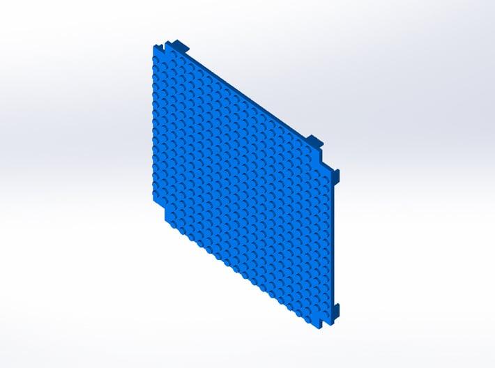Rokenbok Deck Plate, Studs 3d printed