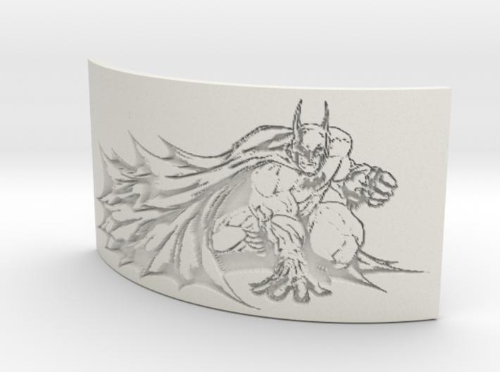 Batman Curved Lithophane 3d printed