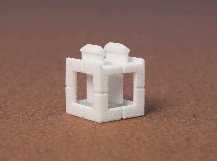 Rokenbok Single Snap Block 3d printed