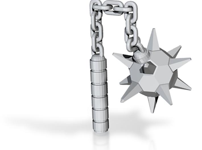 "4"" inch Munny morning star ninja weapon 3d printed"