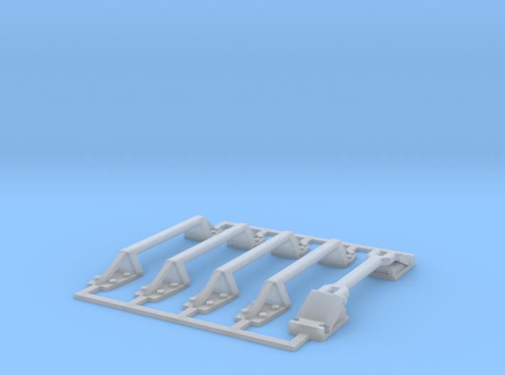 Command Module handles 3d printed