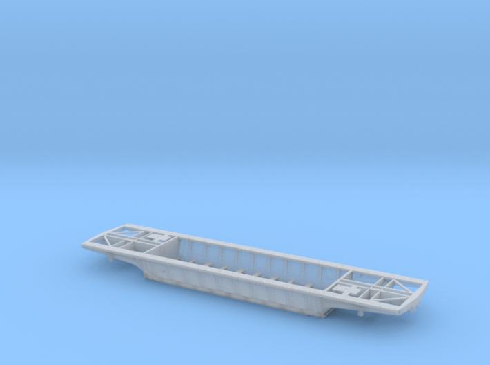 PRR F25 Depressed Center Flatcar in S scale 3d printed