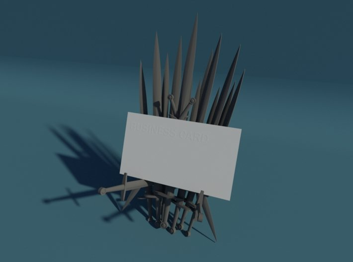 Iron Throne Business Card Holder 3d printed