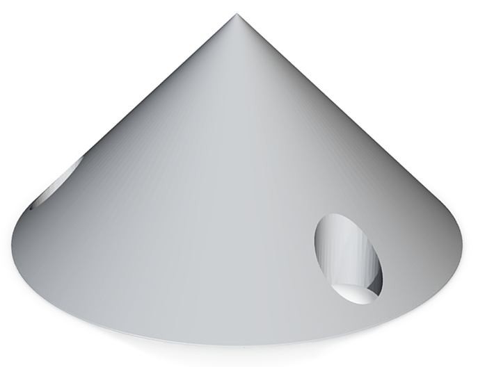 Aerobee Interstage cone 3d printed