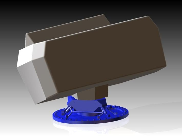 Smart-S MK2 Radar Kit - Part 1 1/96 3d printed Part 1