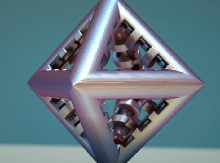Triangle Fractal DL3 3d printed