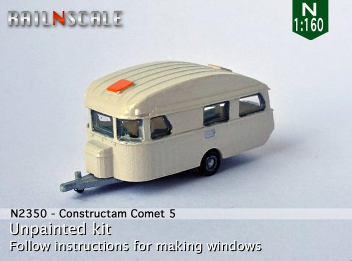 Constructam Comet 5 (N 1:160) 3d printed