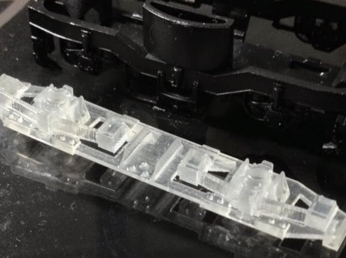 Drehgestellblenden T1 RSE 3d printed Testdruck