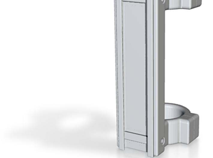25.4 mm Dual Ring Scope Mount (Picatinny/Weaver) 3d printed