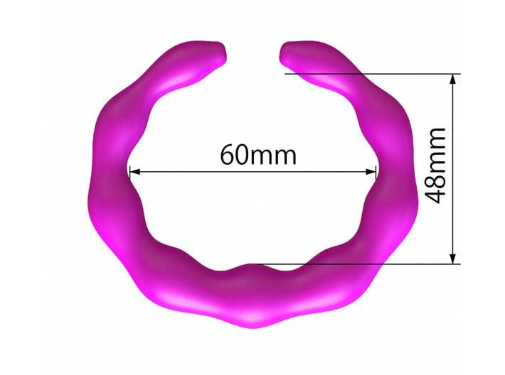 GW3Dfeatures Bracelet B  3d printed