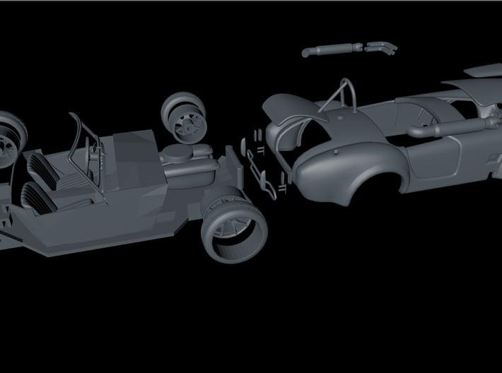 1.shelby Cobra Carrozz- F 3d printed
