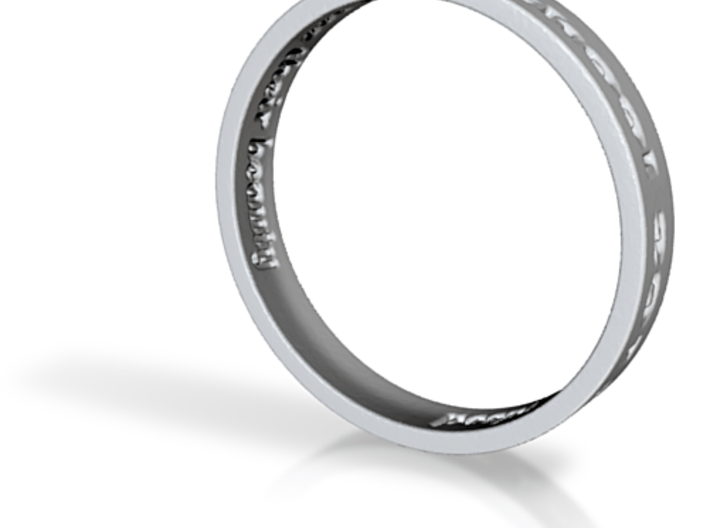 Hannah Ferris Ring Design 3d printed