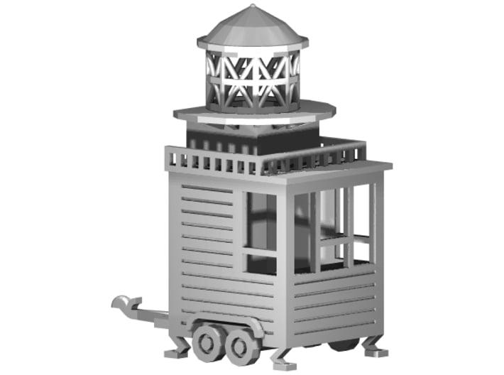 """Kassenwagen / Ausschank """"Leuchtturm"""" 1:87 (H0 scal 3d printed zusammengesetzt - composite"""