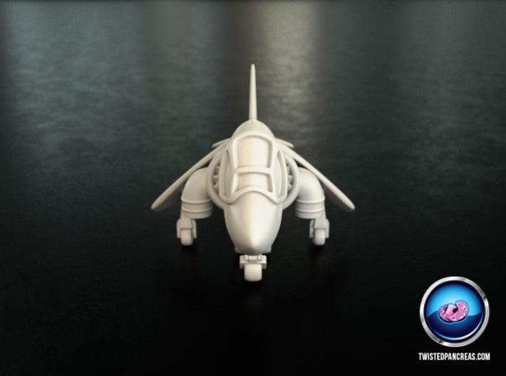 Cartoon Harrier Jump Jet 3d printed