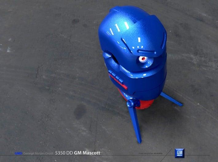 GMD Robot Mascott toy  3d printed