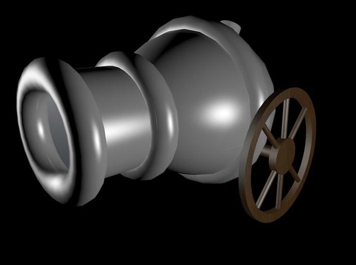 Hordakbigcannon 3d printed Concept render.