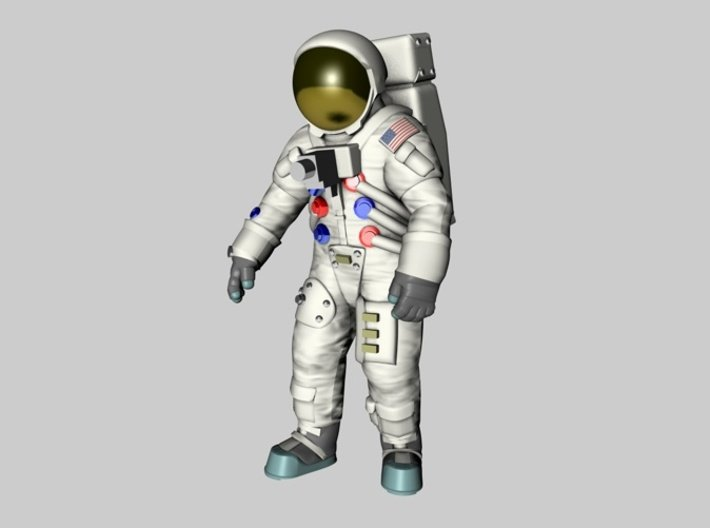 Apollo 11 Astronauts 1:72 3d printed