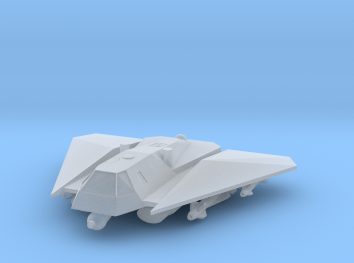 """285 Scale Federation A-20 """"Avenger"""" Heavy Fighter 3d printed"""