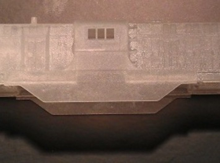 Baldwin DT6-6-2000 Dummy N Scale 1:160 3d printed Shell (Before Cleaning)
