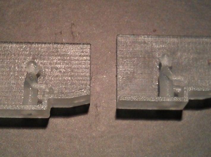 Baldwin DT6-6-2000 Dummy N Scale 1:160 3d printed Engineers (Before Cleaning)