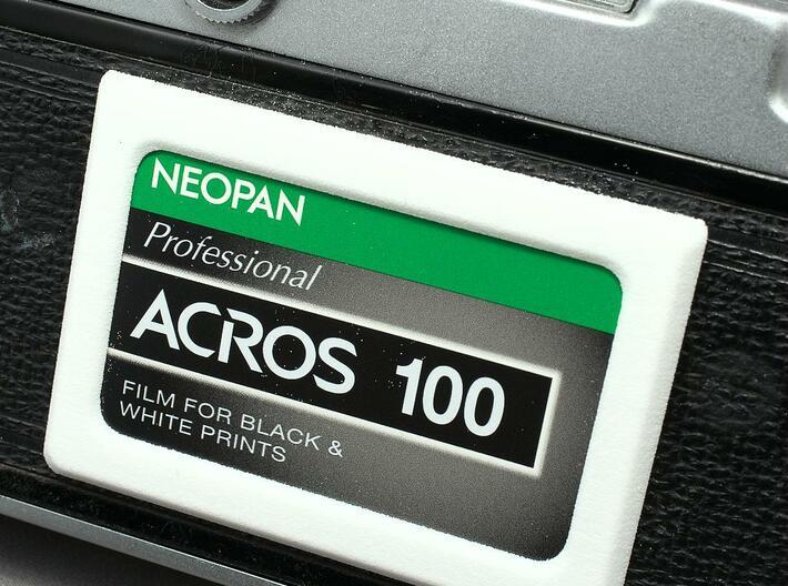 Memo Holder for Film Camera 3d printed
