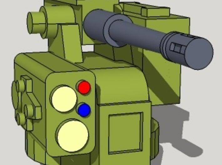 15mm CROWS Machine Gun Stations (6 Pcs) 3d printed
