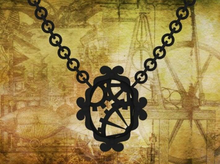 Victorian Timekeeper Necklace 3d printed Cosplay!!!