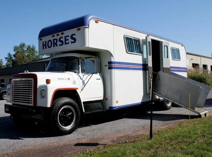 HO 1/87 Horsebox 1978 Imperatore 6, International  3d printed The actual prototype (copyright : Frank DiBella).