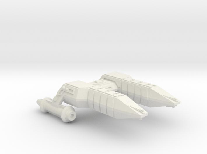 3788 Scale Lyran Refitted Cheetah Frigate (FF) CVN 3d printed